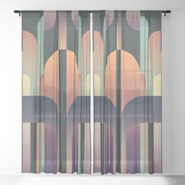 Total Eclipse 2 Sheer Curtain