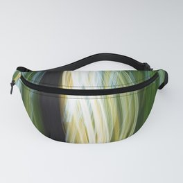 Flora Abstract Fanny Pack