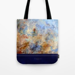 Gentle Shores - Original Abstract Art by Vinn Wong Tote Bag