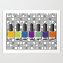 Colour happy Art Print