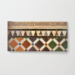 Details in The Alhambra Metal Print