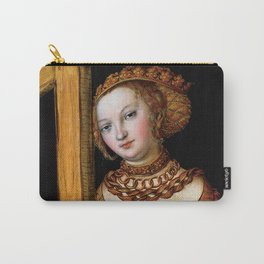"Lucas Cranach the Elder ""Saint Helena with the Cross"" Carry-All Pouch"