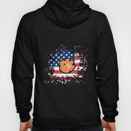 Clemson Tigers Flag Pride country beautiful foot america Hoody