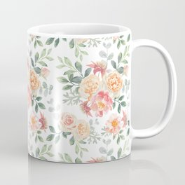 Pink roses bouquets Coffee Mug
