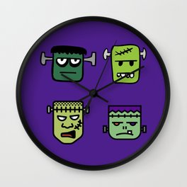 The Frankensteins Wall Clock
