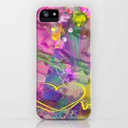 Miss Twiggy Pastel iPhone Case