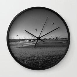 Kite Boarding Wall Clock