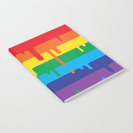 DRIPPY RAINBOW Notebook