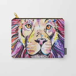 The Chief - Lion painting Carry-All Pouch