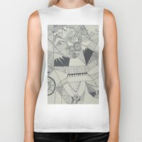 naked Biker Tanks featuring Naked by Annemiek Boonstra
