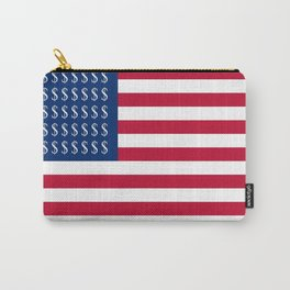 Parody of the flag of the usa Carry-All Pouch