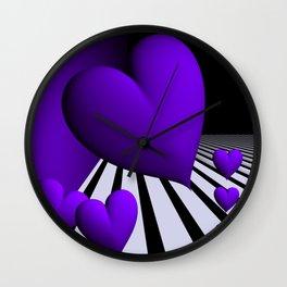 go violet -13- Wall Clock