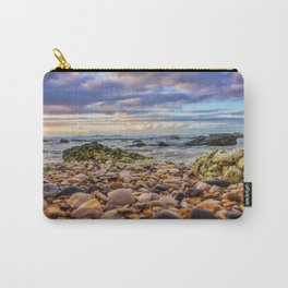 Low pebbles, smooth tide Carry-All Pouch