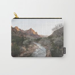 Canyon Junction, Zion National Park, Utah Carry-All Pouch