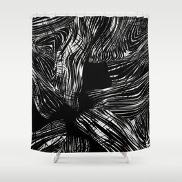 looking for darkness Shower Curtain