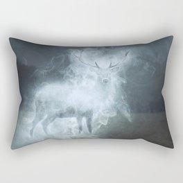 Stag Patronus Rectangular Pillow