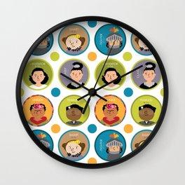 Awesome Women Wall Clock