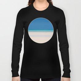 Dreamt Tropical Beach Design Long Sleeve T-shirt