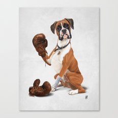 The Boxer (Wordless) Canvas Print