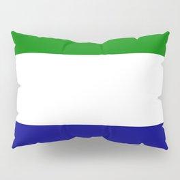 Flag of Sierra Leone Pillow Sham