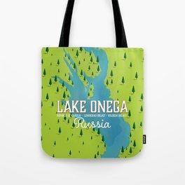 Lake Onega, russia Tote Bag