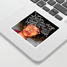 Angela Davis Sticker