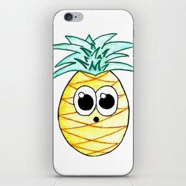 The Suprised Pineapple iPhone Skin