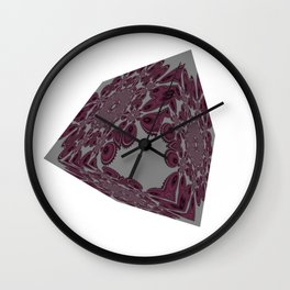 Cubed Pattern Wall Clock