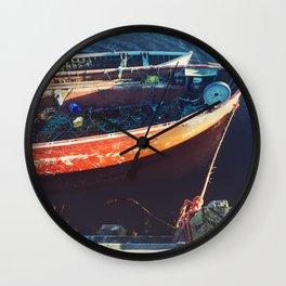 Pier Mooring Wall Clock
