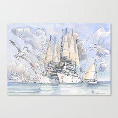 La Citta' Nave Canvas Print