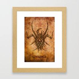 Zodiac: Taurus Framed Art Print