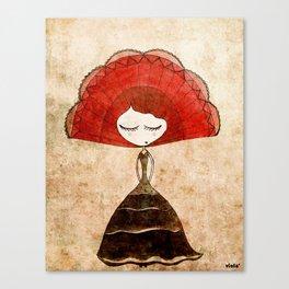 flamenca Canvas Print