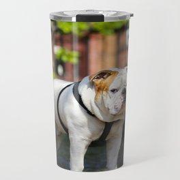 No Entry - Bulldog #decor #homedecor Travel Mug