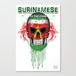 To The Core Collection: Suriname Canvas Print
