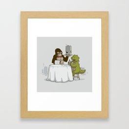Crunchy Meal Framed Art Print
