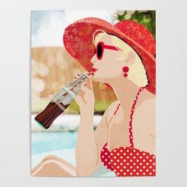 Retro Vacation Poster