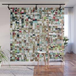 Geometric Textured Jumble Wall Mural
