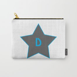 Initials | Star | D Carry-All Pouch