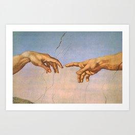 Michelangelo's Creation Art Print