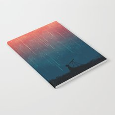 Meteor rain Notebook