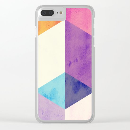 RubyTres Textured Clear iPhone Case