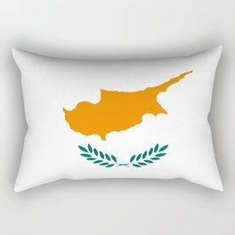 Flag of Cyprus Rectangular Pillow