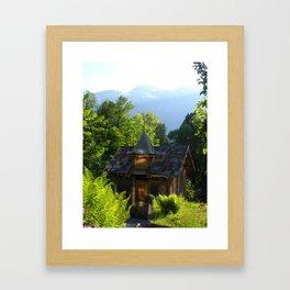 Kiosk Magic Framed Art Print