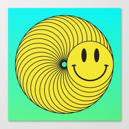 Smiley Ring Canvas Print