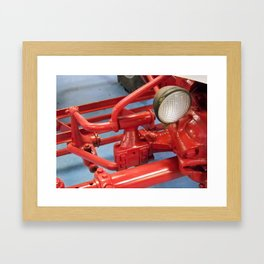 Cast Iron Framed Art Print
