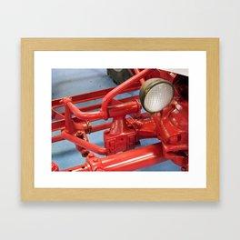 Cast Iron Framed Art Print