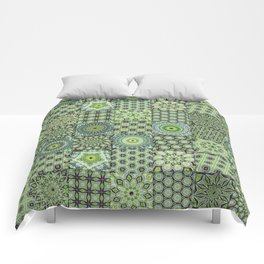 Green Valley Quilt Comforters