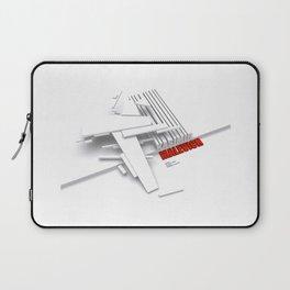 Malevich 3D [B&W] Laptop Sleeve