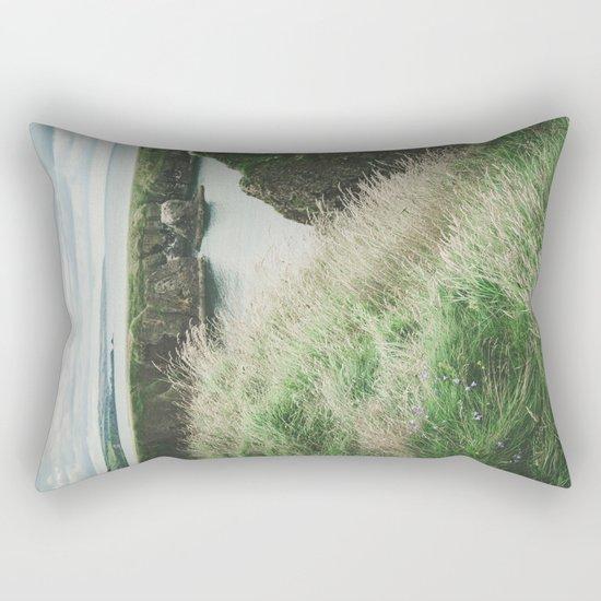 East coast of Scotland Rectangular Pillow