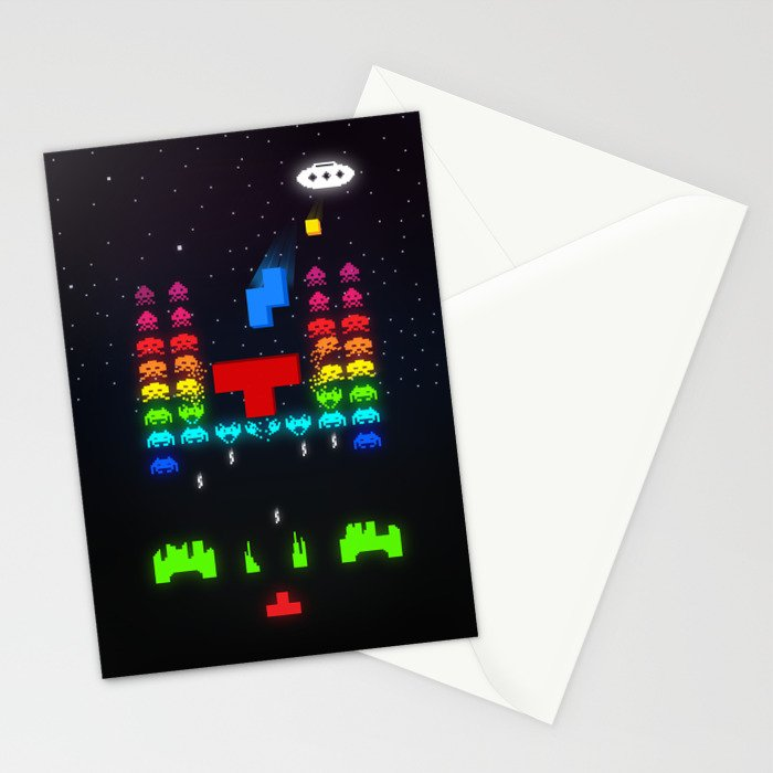 INVATRIS : The reinforcements arrived! Stationery Cards